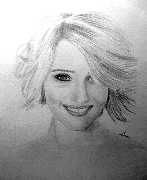 Dianna Agron by Linou